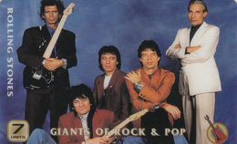 UK   Phonecard- Unitel Remote Memory - Rolling Stones Superb Mint Condition - [ 8] Firmeneigene Ausgaben
