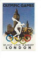 19410 - London 1948 Jeux Olympiques D'Eté (Reproduction D'Affiche Format 10 X 15) - Jeux Olympiques