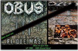 OBUS - Obus Que Mas - Von 1982 - Neue LP - 100 % Brand News - Hard Rock & Metal
