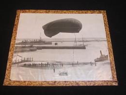 Photo Grand Format, Ecole Des Observateurs Et Des Arrimeurs De Ballons Dirigables De Brest 1917, WW1. - 1914-18