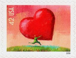 USA - 2008 - Love - Mint Self-adhesive Stamp - Etats-Unis