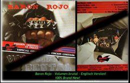 BARON ROJO - Volumen Brutal - Englisch Version - Neue LP - 100 % Brand News - Hard Rock & Metal