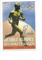 19411 - Helsinki 1952 Jeux Olympiques D'Eté (Reproduction D'Affiche Format 10 X 15) - Jeux Olympiques