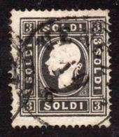 Italy Lombardy-Venetia Yvert#6A Used - Lombardo-Veneto