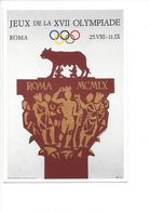 19413 - Roma 1960 Olympic Games (Reproduction D'Affiche Format 10 X 15) - Jeux Olympiques
