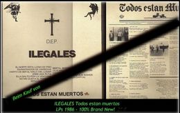 ILEGALES - Todo Estan Muertos  Von 1986 - Neue LP - 100 % Brand News - Hard Rock & Metal