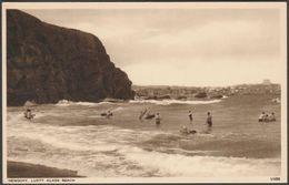 Lusty Glaze Beach, Newquay, Cornwall, C.1930s - Photochrom Postcard - Newquay