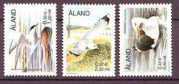 Aland 2000, Birds 3v Mnh - Aland
