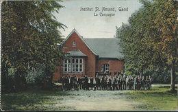 Gand   -   Institut St. Amand   -   La Campagne   -    1912  Naar   Schoonaerde - Gent