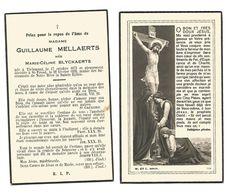 957. GUILLAUME MELLAERTS  Geb. M. BLYCKAERTS - °TIENEN 1873 / +ST-TRUIDEN 1939 - Imágenes Religiosas