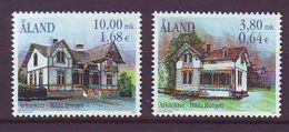 Aland 2000, Architecture 2v  Mnh - Aland