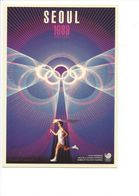 19420 - Seoul 1988 Olympic Games (Reproduction D'Affiche Format 10 X 15) - Jeux Olympiques