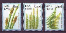 Aland 2001, Ferns 3v Mnh - Aland