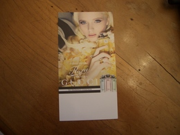 Carte Gucci Flora Japon - Perfume Cards