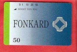 PHILIPPINES  Tamura Card 50 Units FONKARD Mint - Philippines