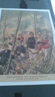 Affiche (DESSIN) - EXPEDITION DE MADAGASCAR Dans La Brousse - Affiches