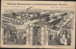 CPA CP Carte Publicitaire Grande Brasserie De Champigneulles Nancy CAD Ambulant - Nancy
