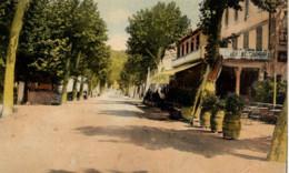 11 QUILLAN - Avenue De La Gare - Couleur - Autres Communes