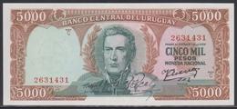 Uruguay 5000 Pesos (ND 1967) UNC - Uruguay