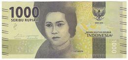 Indonesia NEW - 1000 1.000 Rupiah 2016 - UNC - Indonesia