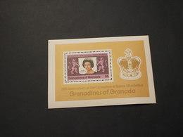 GRENADINES -  BF 1978 INCORONAZIONE  - NUOVI(++) - Grenada (1974-...)