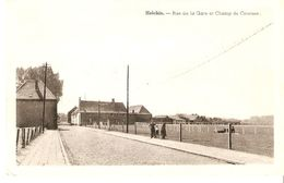 Helchin : Rue De La Gare Et Champ De Courses - Espierres-Helchin - Spiere-Helkijn