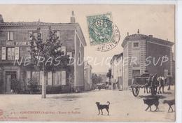 CPA ALBOUSSIERE 07 ROUTE DE BOFFRES - France