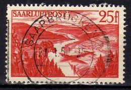 Saarland 1948 Mi 252, Gestempelt, Flugpost (Air Mail) [250218XXII] - 1947-56 Protectorate