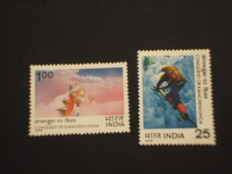 INDIA - 1978 SCALATA MONTE 2 VALORI  - NUOVI(++) - Nuovi