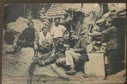 Militaires De 1915 Et Le Courrier De La Marraine - Weltkrieg 1914-18