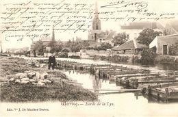 Wervicq  / Wervik : Bords De La Lys 1904 - Wervik