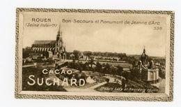 CHOCOLAT SUCHARD - VUES DE FRANCE - 338 - BON-SECOURS ET MONUMENT DE JEANNE D'ARC (SEINE INFÉRIEURE) - Suchard