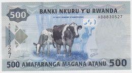 Rwanda P 38 - 500 Francs 1.1.2013 - UNC - Rwanda