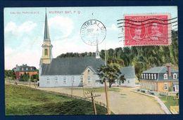 Canada. Murray Bay ( Malbaie). Eglise Paroissiale Saint-Etienne. 1908 - Quebec