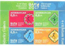 2017. Azerbaijan,  5th Islamic Solidarity Games, 4v, Mint/** - Azerbaïjan