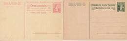 Schweiz Suisse: 3 Postkarten ** 3 CP Neuves: Fils De Tell-Knabe Aufdrucke 7 1/2 C Grün &  10 C Grau & Helvetia 10 C Rosa - Interi Postali