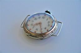 Watches : POCKET WATCH  SOLID SILVER 1900's - Original - Running - Watches: Bracket