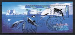 Australia AAT 1995 Antarctic Whales & Dolphins S/S  Y.T. BF 1 (0) - Used Stamps