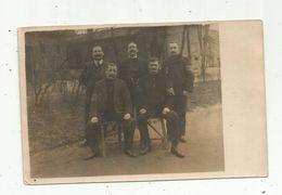 Carte Photo , Hommes , Brassards , écrite - Männer