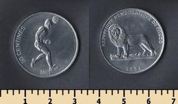 Congo 50 Centimes 2002 - Congo (Democratic Republic 1998)