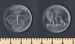 Congo 50 Centimes 2002 - Congo (République Démocratique 1998)