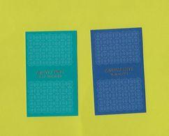 2 Cartes De Armani Privé - Perfume Cards