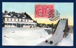 Canada. Montréal. Tremplin Pour Courses De Luges. 1908 - Montreal