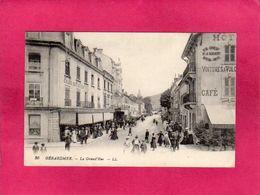 88 Vosges, Gérardmer, La Grand'Rue, Animée, Commerces, 1915, (L. L.) - Gerardmer