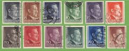 MiNr.59-62 O  Deutsches Reich General Gouvernement - Besetzungen 1938-45