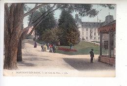 - 88 - MARTIGNY LES BAINS - Un Coin Du Parc - Timbre - Cachet - 1907 - - Non Classés