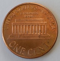 One Cent - 2008 - Lincoln - - 1959-…: Lincoln, Memorial Reverse