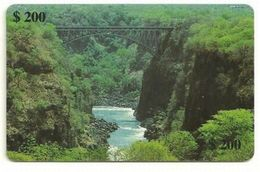 ZIMBABWE  Chip Phonecard BRIDGE - Zimbabwe