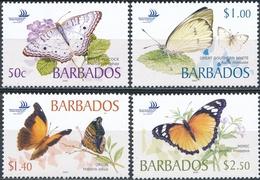 Barbados  Vlinders - Vlinders