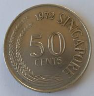 Monnaie - Singapour - 50 Cents 1972 - Superbe - - Singapour
